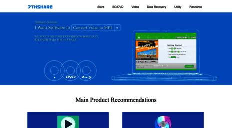 Visit 7thshare com - Best Video Converter, Blu-ray & DVD