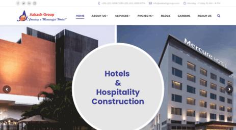 Visit Aakashgroup com - Aakash Group: Leading Construction