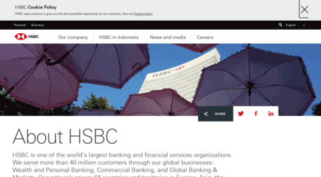Visit About hsbc co id - About HSBC | HSBC Indonesia