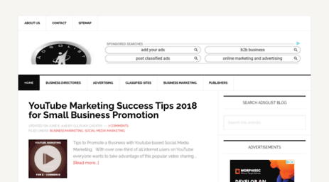 Visit Adsolist com - Adsolist - Advertising & Marketing Blog for