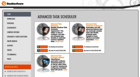 Visit Advscheduler com - Advanced Task Scheduler