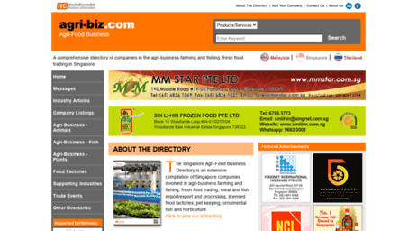 Visit Agri-biz com - Singapore Food Industry - Agri Food