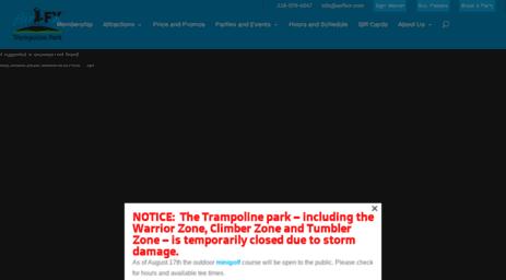 Visit Airfxcr com - AirFX Trampoline Park | Cedar Rapids, Iowa