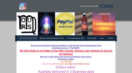 Visit Alchemicalelixirs com - Buy Ormus Gold | Monoatomic