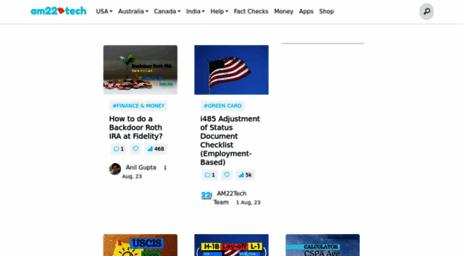 Visit Am22tech com - Immigration, Visa, Making Money, Saving