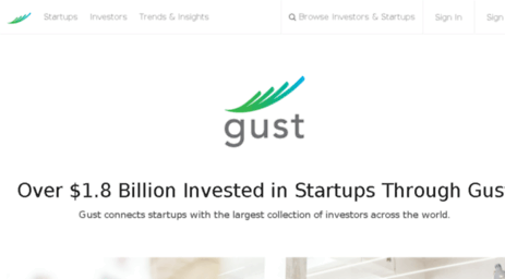 Visit Angelsoft net - Gust | Startup Funding & Investing