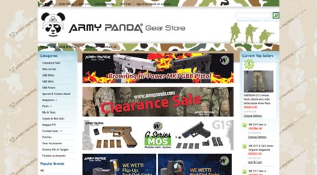 Visit Armypanda com - Army Panda Gear Store