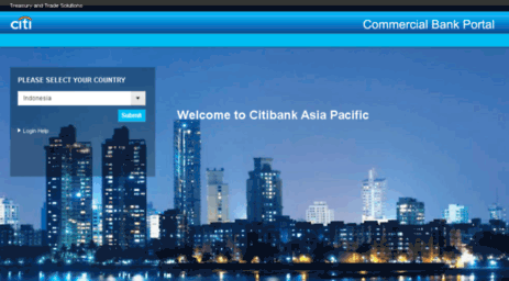 Visit Asia citibank com - Commercial Bank Portal External Login
