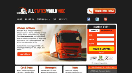 Car Transport Quote >> Visit Aswd Com Auto Transport Services Car Shipping