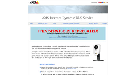 Visit Axiscam net - Axis Communications - Axis Internet