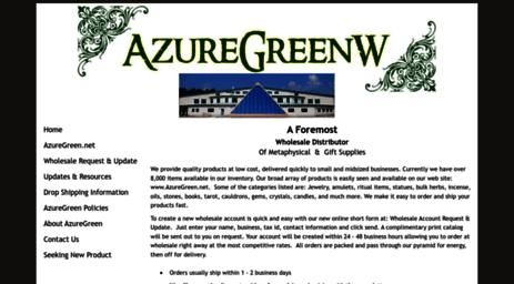 Visit Azuregreenw com - AzureGreenW - AzureGreen's resource website
