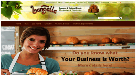 Visit Bangalla com - Wholesale food distributor and dropship Organic