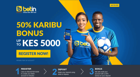 Visit Betin co ke - Betin Kenya Sport Betting,Premier League