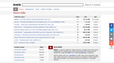Visit Binzb Com Binzb Usenet Search 11 7 Million Valid Nzb Files