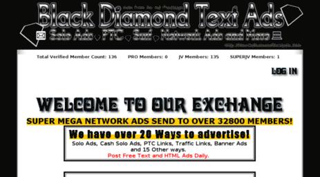 Visit Blackdiamondtextads info - Black Diamond Text Ads