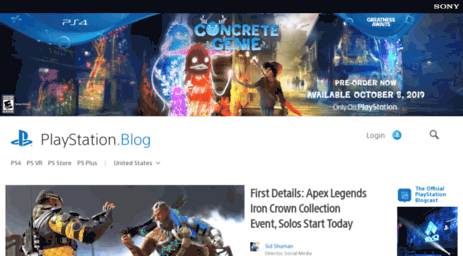 Visit Blog sonyentertainmentnetwork com - PlayStation Blog
