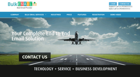 Visit Bulkemail in - Bulk Email Service Provider | Best
