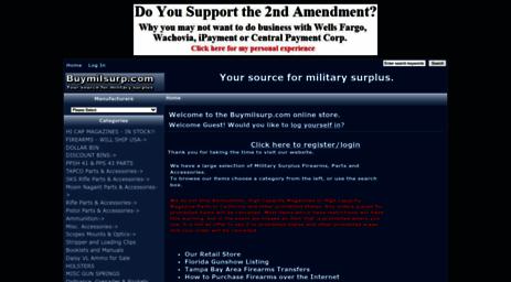 Visit Buymilsurp com - Buymilsurp com, Your source for military