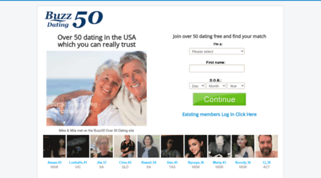 Dating for the over 50s