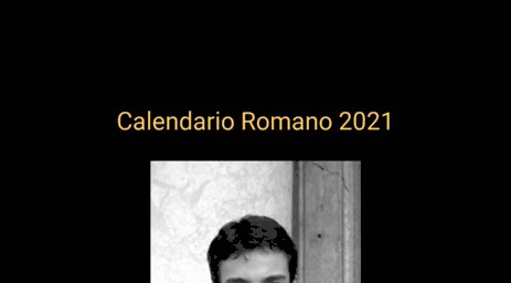 Calendario Curas Vaticano 2019.Visit Calendarioromano Org Calendario Romano 2019 Priests