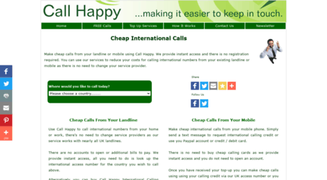 Visit Callhappy co uk - How to Make Cheap International