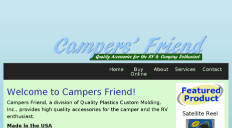 Visit Campersfriend com - Quality products for the Camping, Motor