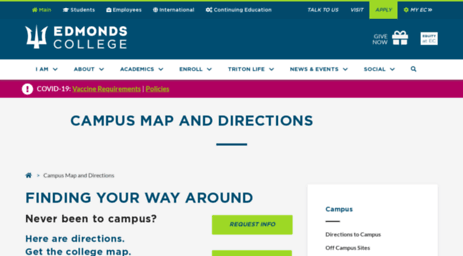 Visit Campus Edcc Edu Edmonds Community College Campus Map And