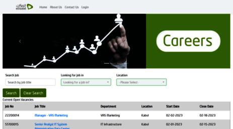 Visit Careers etisalat af - Etisalat Afghanistan - Recruitment Job