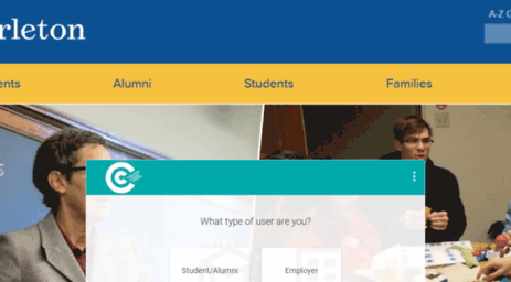 Visit Carleton Csmsymplicitycom What Type Of User Are You