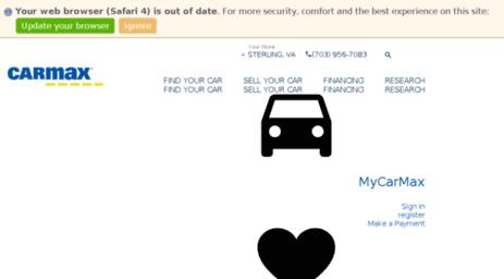 Visit Carmaxautofinance.com - CarMax Auto Finance | CarMax.