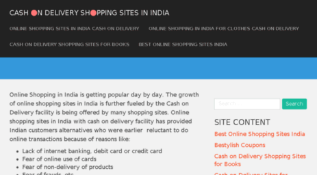 cashondeliveryshoppingsites.in