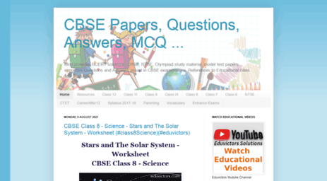 Visit Cbse-notes blogspot qa - CBSE Papers, Questions