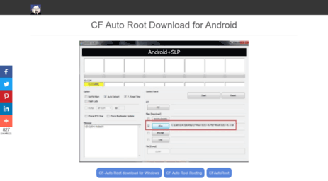 Visit Cfautoroot com - CF-Auto-Root Download for android - Root with