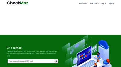 Visit Checkmoz Com Free Mozrank Checker Tool Online Check Bulk