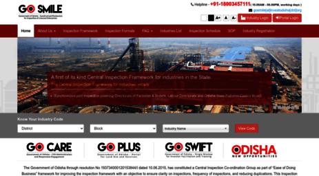 Visit Cicg investodisha org - GO-SMILE || Govt  of Odisha