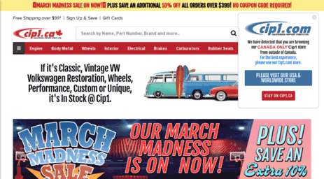 Visit Cip1 ca - Cip1 ca, Canada, air-cooled VW Parts