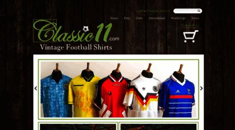 eb1857666 Visit Classic11.com - Classic 11 Football Shirts