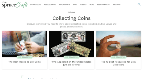 Visit Coins about com - Collecting Coins