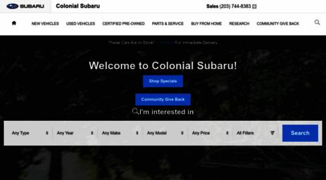 Subaru Dealers Ct >> Visit Colonialsubaruct Com Connecticut Subaru Dealership