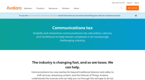Visit Communicationstaxrates Avalara Com Communications Tax Rates