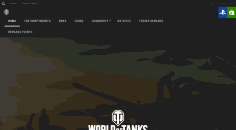 Visit Console worldoftanks com - Main | World of Tanks Console