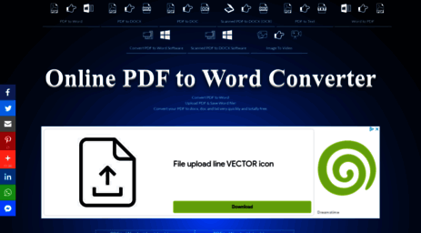 Visit Convertpdftoword Net Convert Pdf To Word Pdf To Word