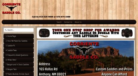 Visit Corrientesaddleco com - Corriente Saddle | Corriente Saddle