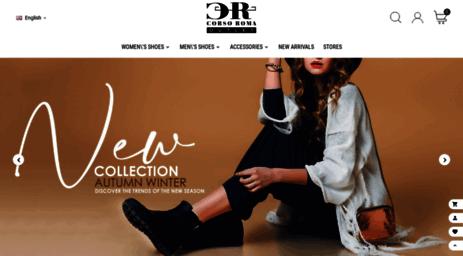 Visit Corsoroma.net - Scarpe Firmate Online - Corso Roma ...