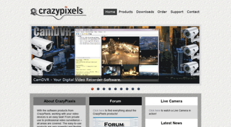 Visit Crazypixels com - Find PC Surveillance Software, IP
