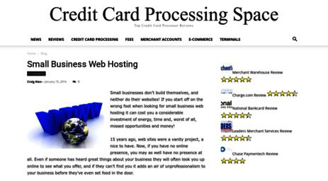 Visit Creditcardprocessingspace com - Windows 7 Home Premium