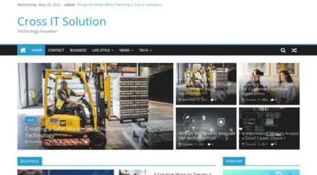 Visit Crossitsolution com - Web design company in India