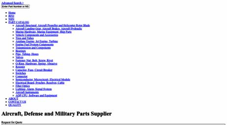 Visit Csgparts com - CSG Parts- Military Aircraft Parts, NSN Parts
