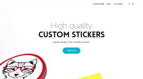 Visit Customstickers net - Custom Stickers - High quality