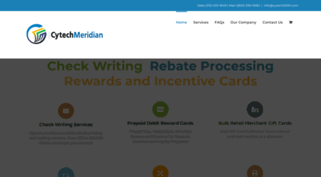 Visit Cytech2000 com - Check Writing Services and Rebate Processing